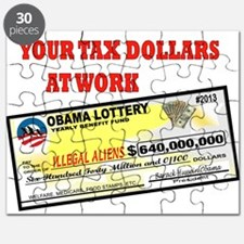 OBAMA LOTTERY Puzzle