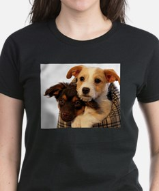 Puppies in a carrier Tee