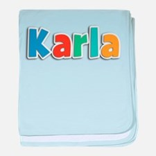 Karla Spring11B baby blanket