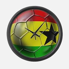 Ghana Football Large Wall Clock