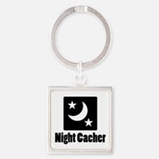 Night Cacher Square Keychain