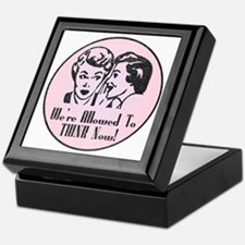 Retro 50's Ladies For Women's Keepsake Box