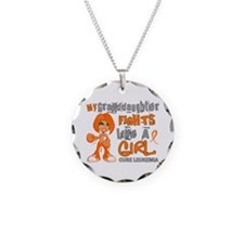 Fights Like a Girl 42.9 Leukemia Necklace