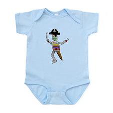 Pirate Robot Infant Bodysuit