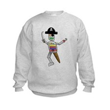 Pirate Robot Sweatshirt