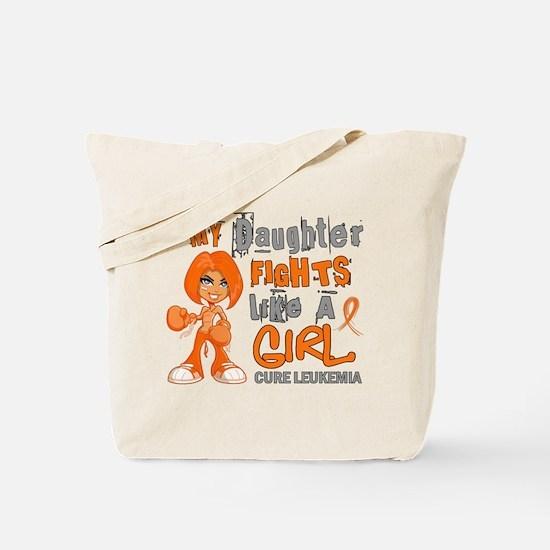 Licensed Fight Like a Girl 42.9 Leukemia Tote Bag