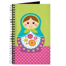Unique Russian doll Journal