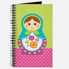 Unique Russian doll Journal