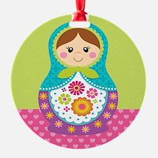 Unique Russia doll Ornament