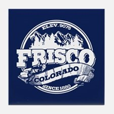 Frisco Old Circle Tile Coaster