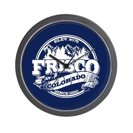 Frisco Old Circle Wall Clock