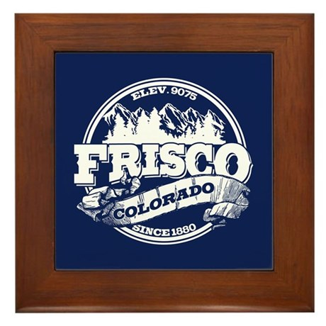 Frisco Old Circle Framed Tile