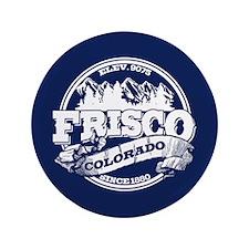 """Frisco Old Circle 3.5"""" Button"""