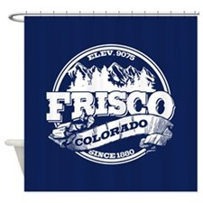 Frisco Old Circle Shower Curtain