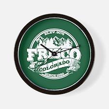 Frisco Old Circle Wall Clock