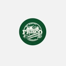 Frisco Old Circle Mini Button