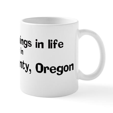 Morrow County: Best Things Mug