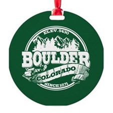Boulder Old Circle Ornament