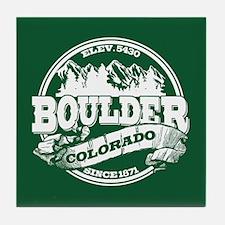 Boulder Old Circle Tile Coaster