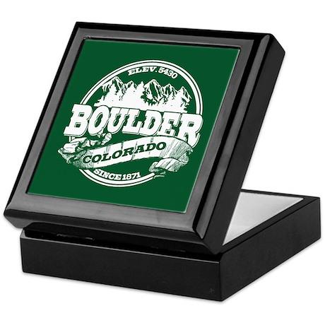 Boulder Old Circle Keepsake Box