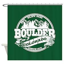 Boulder Old Circle Shower Curtain