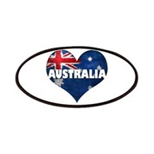 Australia heart title Patches