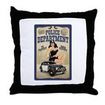 Police Department Throw Pillow