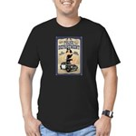 Police Department Men's Fitted T-Shirt (dark)