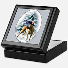 Boerboel Christmas Keepsake Box