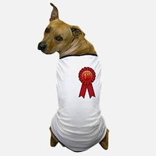 1st Place Ribbon Dog T-Shirt