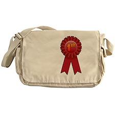 1st Place Ribbon Messenger Bag