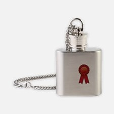 1st Place Ribbon Flask Necklace