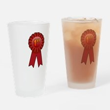 1st Place Ribbon Drinking Glass