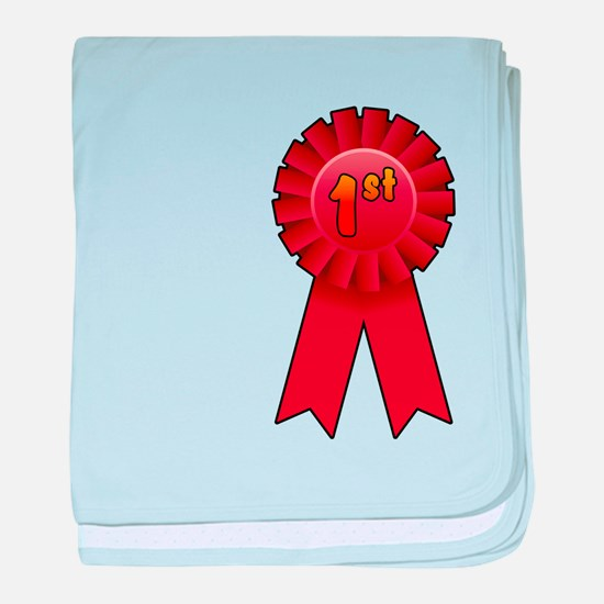 1st Place Ribbon baby blanket