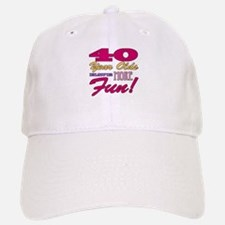 Fun 40th Birthday Gifts Baseball Baseball Cap