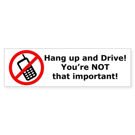 Hang up! You're not that important! Sticker (Bumpe