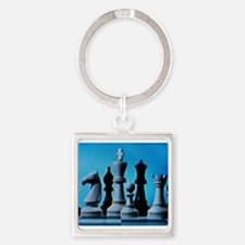 CHESS LOVE™ Square Keychain
