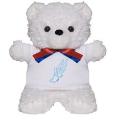 Blue Running Shoe Teddy Bear