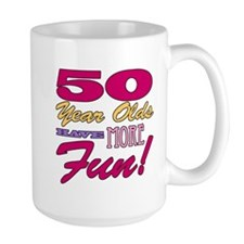 Fun 50th Birthday Gifts Mug