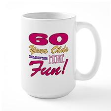 Fun 60th Birthday Gifts Mug