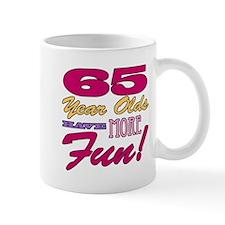 Fun 65th Birthday Gifts Mug