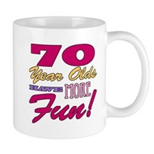 Fun 70th Birthday Gifts Mug