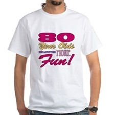 Fun 80th Birthday Gifts Shirt