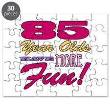 Fun 85th Birthday Gifts Puzzle