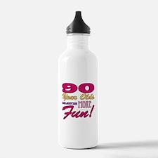 Fun 90th Birthday Gifts Water Bottle