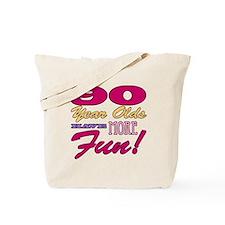 Fun 90th Birthday Gifts Tote Bag