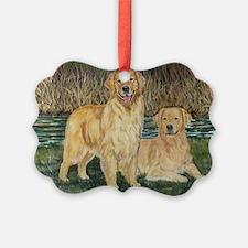 golden marsh pair.png Ornament