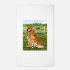 golden obedience.png 3'x5' Area Rug