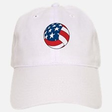 American Flag Volleyball Baseball Baseball Cap