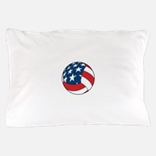 American Flag Volleyball Pillow Case